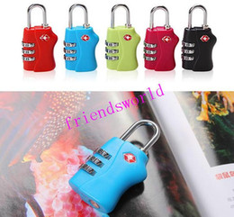 $enCountryForm.capitalKeyWord Canada - DHL Fedex TNT Free shipping Customs Luggage Padlock TSA338 Resettable 3 Digit Combination Padlock Suitcase Travel Lock TSA locks