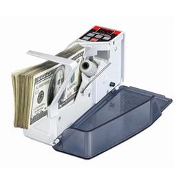 Para için orijinal Mini Taşınabilir nakit Sayacı kullanışlı sayaç V40 Not Fatura ABD AB tak Nakit Sayma Makinesi