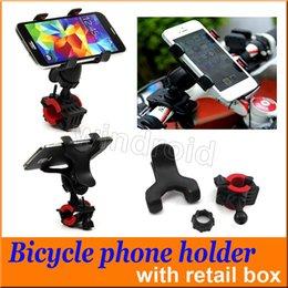 $enCountryForm.capitalKeyWord Canada - 360 Degree Rotatable Universal Bike Bicycle Handle Phone Mount Cradle Holder Cell Phone Motorcycle Handlebar For Iphone 7 GPS retail box
