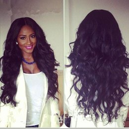 cheap stock lace wig NZ - 100% Lace Front Human Hair Wigs Wavy curly 300% Density In Stock Cheap Lace front Wig With Baby Hair For Women