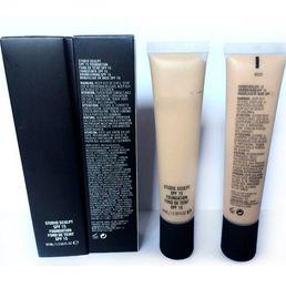 Oil Free Makeup Brands Canada - Hot Brand M Sculpt Liquid Foundation SPF15 40ML Face Makeup Cosmtics High Quality Concealer Liquid 12pcs DHL free