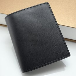 a50e9a9b1 Cartera de lujo de MB Cartera de cuero de los hombres calientes Carteras  medianas Carpeta de titular de la tarjeta MTpurse Paquete de caja de regalo  de alta ...