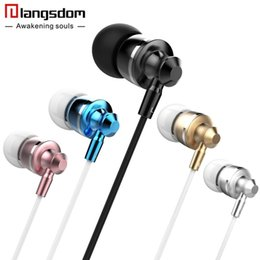 $enCountryForm.capitalKeyWord Canada - M300 Stereo Earphones In-Ear Earphones Super Bass Earbuds Volume Control Earphone Mic for 100% Original Langsdom M300