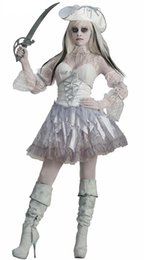 Female Vampire Halloween Costumes Canada - Scary Ghost Zombie Undead Corpse Vampire Hen Halloween Costume Party Dress Cosplay Carnival