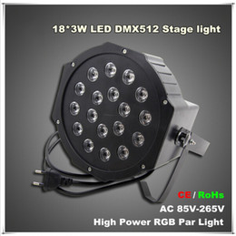 Wholesale masters degrees online – design High Power W Led Stage Light RGB Par Light DMX512 Master Slave Led Flat Equipments Controller for DJ Party KTV Disco