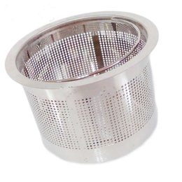 Beauty Bedding UK - Beauty Salon Wash Hair Basin Hairdressing Drainer Parts Punch Bed Stainless Steel Dense Filter Hand Basket Blocking Impurities