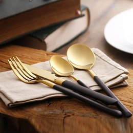 new hot Eco-friendly Japanese dinnerware cutlery set stainless steel gold plated flatware quality tableware household wn258 & Japanese Hot Plate | DHgate UK