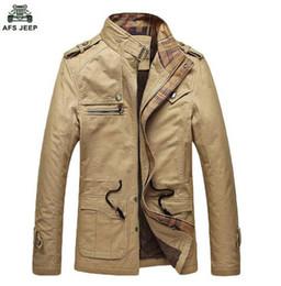 Military Parka Men Canada - 50% OFF Free shipping 2016 Winter Jacket Men Outdoors Casual Cotton Parka Military Coat Army Green Khaki Black Coat 130hfx 202
