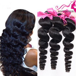 Discount weft extensions remy 18 22 - Unprocessed 7a Loose Wave Peruvian Virgin Hair Wefts Remy Peruvian Virgin Hair Extension 4 Pcs Human Hair Weave Bundles