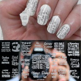 Discount Nail Art Letters Metal Nail Art Letters 2018 On Sale At