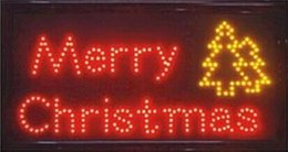 new time limited graphics semi outdoor 15mm 155x275 inch ultra bright merry christmas led lighted sign