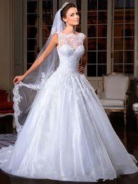 Lace wedding dress ready to wear