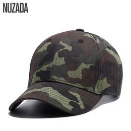 ac8e8fc5c02 Brand Nuzada Quality Hip Hop Hats Spring Summer Men Women Baseball Cap  Camouflage Snapback Bone High -Grade Cotton Sunscreen Caps