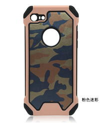 $enCountryForm.capitalKeyWord UK - 100pcs Military Camouflage Case Navy Army Camo Hard Plastic Cover +Soft TPU Armor Phone Case for iphone 7 4.7 inch Cell Phonce Case Cover