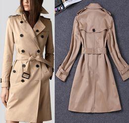Classic Beige Trench Coat Women Online | Classic Beige Trench Coat ...
