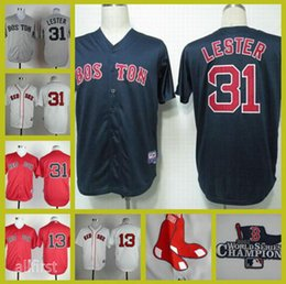 promo code f6dd4 dfe21 boston red sox 31 jon lester red jersey