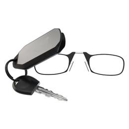 Очки для ключей с брелками 1.00 / 1.50 / 2.00 / 2.50 Сила - Черная / Красная / Синяя / Коричневая рамка