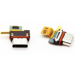 Charging Connector Types Australia - Original New For Sony Xperia X Compact F5321 SO-02J Mirco USB Port Charging Board Flex Cable Type-C Charging connector Board Free Shipping