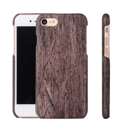 $enCountryForm.capitalKeyWord Canada - wholesale Newest luxury smooth real Bamboo Wood Hard PC Back Cover Case for iphone 6 6plus iphone 7 7plus Mobile Phone Case