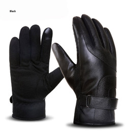 $enCountryForm.capitalKeyWord Australia - DHL free shipping long leather glove fashion outdoor anti- skid sports waterproof Windproof and warm motorcycle Finger Gloves