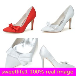 Evening Dresses For Weddings Cheap Canada - Cheap 0608-02 Elegant Fashion High Heels Wedding Dresses Sparkly Crysta Pointed Toe For Women Party Prom Evening Occasion Shoes High Quality