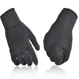 Finger Cut Gloves Canada - Kevlar Working Protective Gloves Cut-resistant Anti Abrasion Safety 5A grade