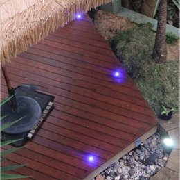 Patio flooring online shopping - Changeable LED Deck Lamp Stainless Steel LED Stairs Light LED Floor Light for Garden Doorway Patio Decoration W W LED Outdoor Lighting