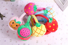 $enCountryForm.capitalKeyWord Canada - Fruit Earmuffs Baby Children Ear Muffs For Boy Earmuffs For Girls Baby Gift Ear Warmers Winter Cotton And Cashmere