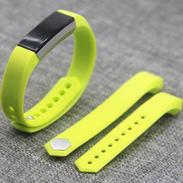 Smart Orange Watches Canada - 2016 New Hotting Replacement Wrist Band Silicon Strap Clasp For Fitbit Alta Smart Watch Bracelet Colors VS DZ09 U8 DHL Free OTH224