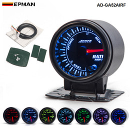 "52mm gauge meter car NZ - 2"" 52mm 7 Color LED Car Auto Air Fuel Ratio Gauge Meter Pointer Universal Meter With Holder AD-GA52AIRF"