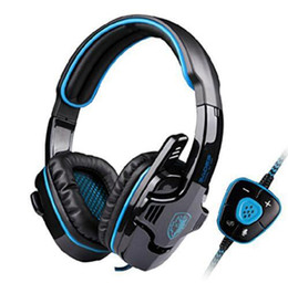 $enCountryForm.capitalKeyWord UK - Brand Sades SA-901 Gaming Headset 7.1 Surround Sound Headphones with Mic Remote Control USB Stereo Bass Earphone for PC Gamer