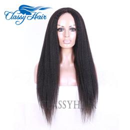 Brown Straight Wig Part NZ - Brazilian Hair U Part Human Hair Wigs Yaki Straight Peruvian Hair U Part wigs for Black Women In Large Stock