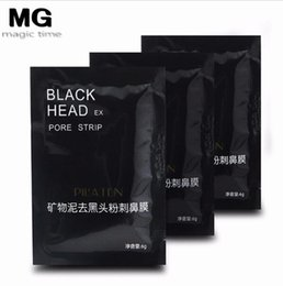 $enCountryForm.capitalKeyWord NZ - PILATEN Suction Black Mask Face Care Mask Deep Cleaning Tearing Style Pore Strip Deep Cleansing Nose Acne Blackhead Facial Mask 3200PCS