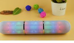 $enCountryForm.capitalKeyWord Australia - JHW-V318 Bluetooth speaker Pulse Pill Rugby LED Flash Lighting Portable Wireless Bluetooth Speaker Bulit-in Mic Handsfree