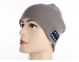 $enCountryForm.capitalKeyWord Canada - Men Women Soft Winter Bluetooth Hats Wireless Beanie Smart Hat Headphone Headset Speaker Mic Headgear Knitted Cap Cashmere