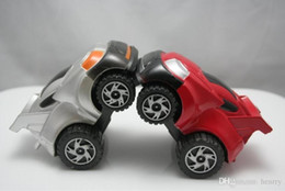 inertia toy car Canada - Cool small car, inertia car, stunt back of the car, 360 degree rotation, erect, super ruggedness model toy car