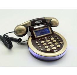 Античный телефон Сид CID звонящего по телефону классицистический Европейский вел задний цвет Самомоднейший