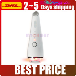 Hot Massage Therapy Canada - New Recharegeable Photon Light Vibration Massage Acne Removal Hot Cold Therapy Lifting Whiting Tighting Skin Facial Beauty Device