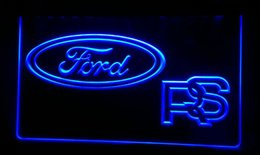 LS272 B Ford RS Car Neon Light Sign