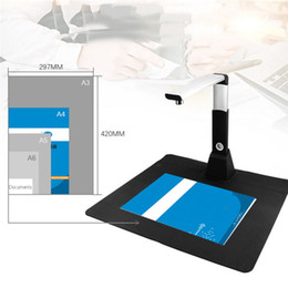 Discount portable document book scanner - Wholesale- Netum SD2000 Mini A3 10Mega Document Book Photo ID Scanner Camera High speed fast response for office work Po