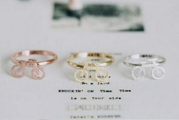 $enCountryForm.capitalKeyWord NZ - Mixed color wholesale 10 pce many new cheap bicycle promotion lovely jewelry ring the bicycle ring free shipping
