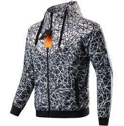 Chinese  Wholesale Spring Fall new men's sports jacket hooded jacket Men casual Thin Windbreaker Zipper Coats 3pcs lot manufacturers