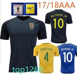 2017 brazil soccer jersey neymar jr home away pele oscar d.costa david luiz top 2014 world cup brazi