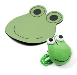 Unique Wire NZ - Cartoon Frog USB Mouse gift for Computer Laptop Fashion Cartoon Frog Prince Mouse 3D Wired Optical Mice Home Office unique frog USB Mouse