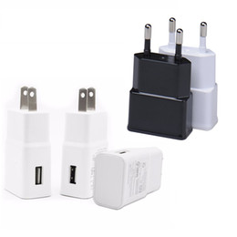 Usb gps receivers online shopping - High quality White Black Real Full V A USB Wall Charger Travel Adapter Eu US Power adapter for samsung s4 s6 s7 s8 note for gps mp4