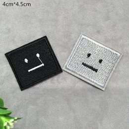 $enCountryForm.capitalKeyWord Canada - Free shipping Smiling face badge embroidered Appliquesgel patch can be sewn can iron clothes DIY accessory garment bag hot