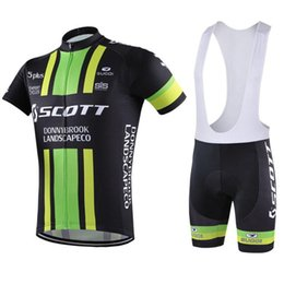 $enCountryForm.capitalKeyWord NZ - 2016 Tour De France Scott Cycling Jerseys Green Color Short Sleeves Paded Bike Wear Quick Dry Breathable SIze XS-4XL Bicycle Clothing