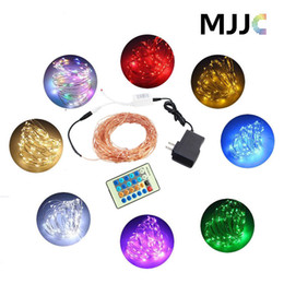 $enCountryForm.capitalKeyWord UK - 33ft Outdoor LED Fairy String Lights Dimmable Starry Lights Copper Wire Light Complete Waterproof Rope Lights for Bedroom Patio Christmas