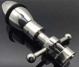 2017 Самый новый дизайн MKR922A Ultimate Asslock Анальный замок из нержавеющей стали металлический рабство секс-игрушки Анальные фаллоимитаторы