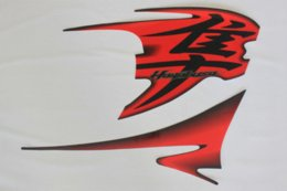 Motorcycle Body Kit Canada - Freeshipping Motorcycle decals stickers graphics set kit motorbike transfers for Suzuki GSXR1300 Hayabusa whole Car Red Color